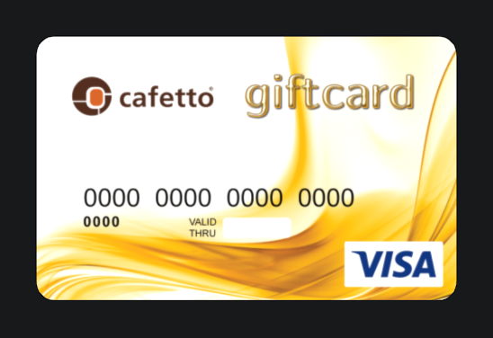 Cafetto_VISA_gift_card