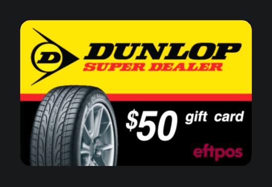 Dunlop-giftcard