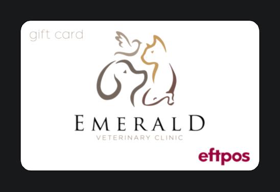 Emerald-vet-giftcard