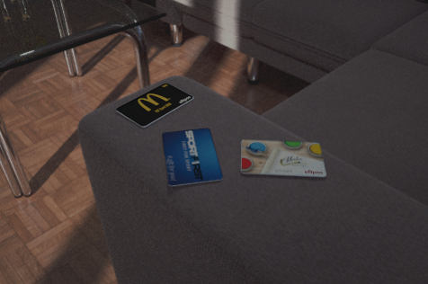 gift cards on lounge