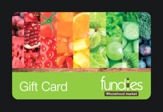 Fundies gift cards