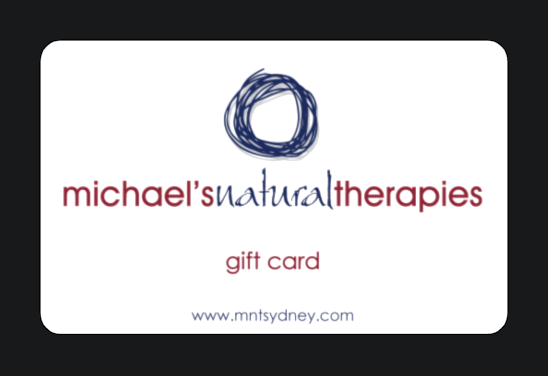 Michael's Natural Therapies gift card