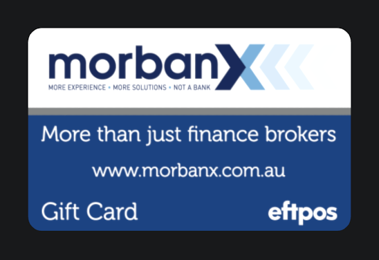 Morbanx gift card