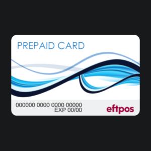 re-loadable ATM eftpos card
