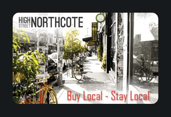 High Street Northcote gift cards