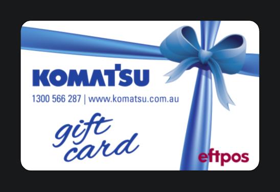Komatsu-giftcards