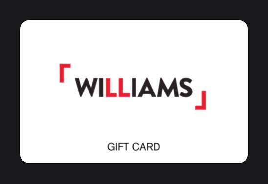 Williams-giftcards
