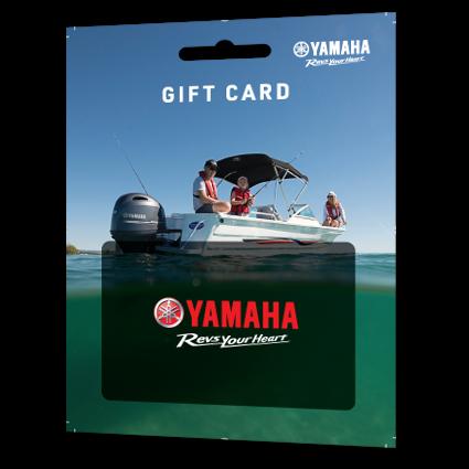 Yamaha gift card